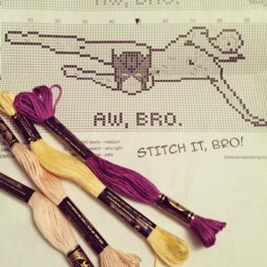 Hawkeye stitch