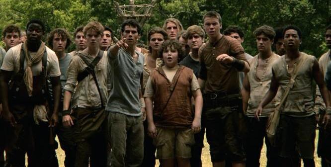Still from the Maze Runner, 2014, James Dashner, Wes Ball, 20th Century Fox