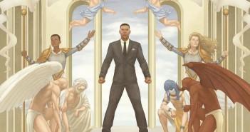 mural - The Wicked + The Divine #4, Jamie McKelvie and Nathan Fairbairn, Image Comics, 2014.