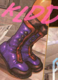 nice boots, Ghost in the Shell 2: man-machine interface manga comic, Young Magazine, Dark Horse Comics, 1991 -- 2003