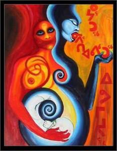 Painting: Tanya Tagaq