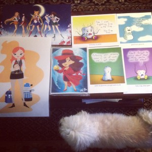 Fan Expo 2014 - Angel's art haul