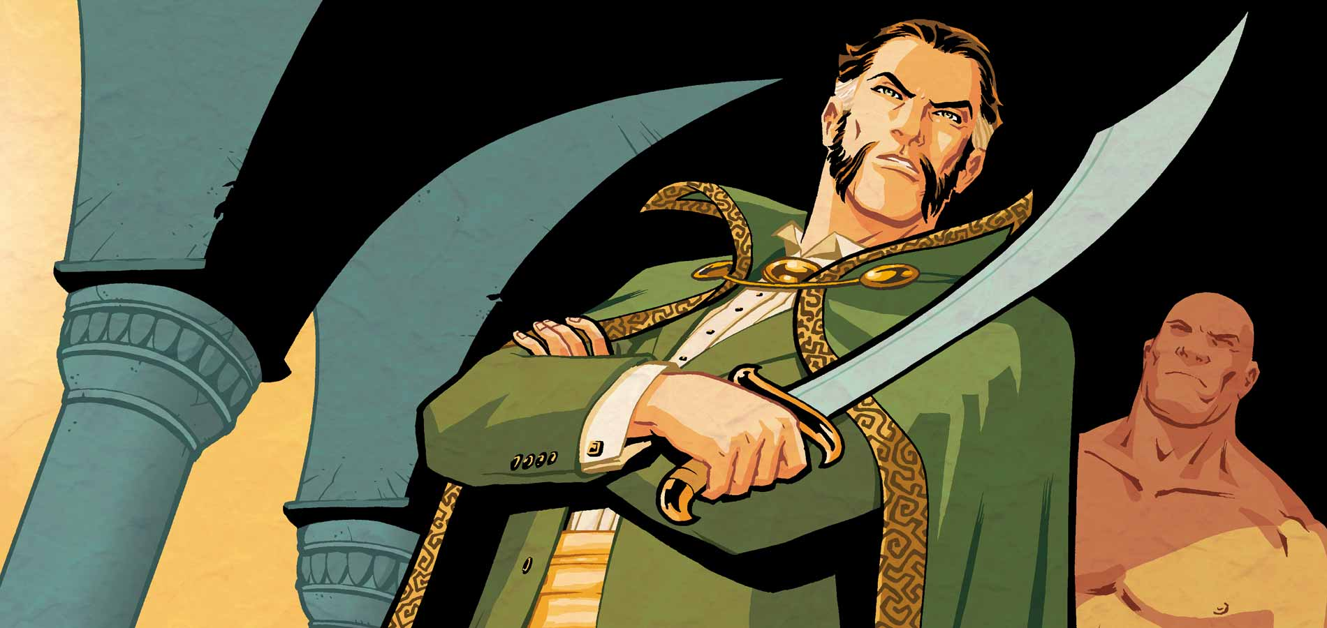 The Origin of Ra's Al Ghul #1. Written by Scott Beatty. Art by Cliff Chiang. September 15 2010. DC Comics. Ra's Al Ghul.