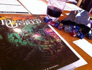 Dungeon World Campaign by Sarah