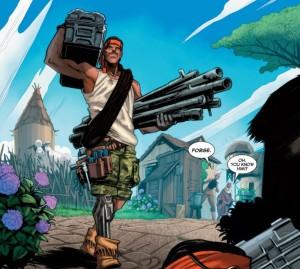 Storm #3, Forge Panel, Marvel 2014