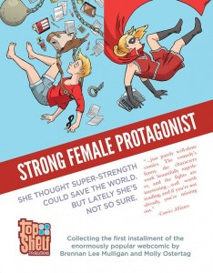 strong female protagonist written by brennan lee mulligan drawn by molly osterag