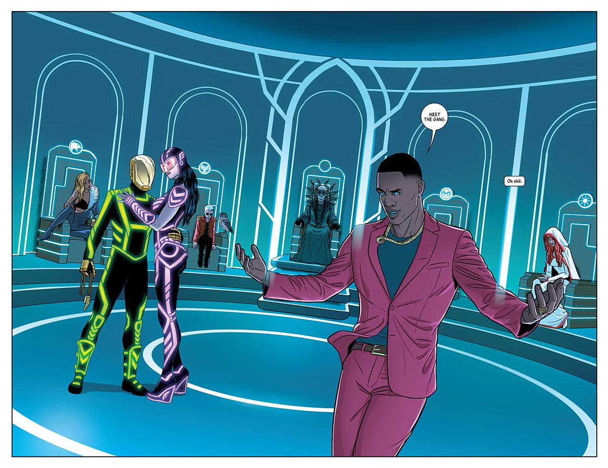thrones - The Wicked + The Divine #4, Kieron Gillen and Jamie McKelvie, Image Comics, 2014