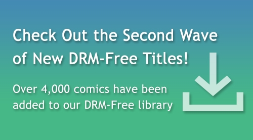 Comixology adds over 4,000 comics and graphics novels to their DRM-free library