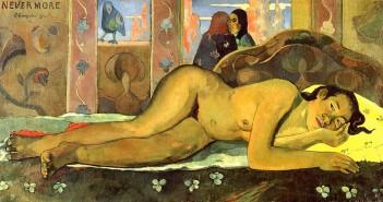 Paul Gauguin, Nevermore (Nikad više), 1897