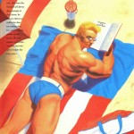 Marvel Swimsuit Special #3 | Art by Lou Harrison, featuring Captain America