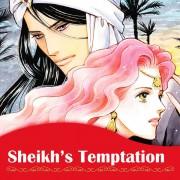 Harlequin Josei Manga comiXology thumbnail: Sheikh's Temptation
