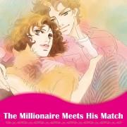 Harlequin Josei Manga comiXology thumbnail: The Millionaire Meets His Match