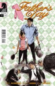 Father's Day #1, Mike Richardson (w) Gabriel Huzman (a) Java Tartaglia (colours) Nate Piekos of BLAMBOT! (lettering) Cover by Keron Grant, Dark Horse