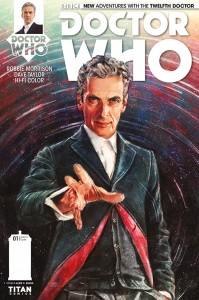 Cover to Doctor Who: The Twelfth Doctor #1, Alice X. Zhang, Titan Comics, 2014