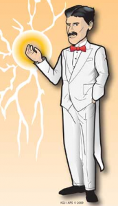 Nikola Tesla, american physical society, http://www.physicscentral.com/experiment/colormephysics/index.cfm