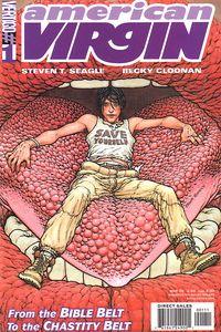 American Virgin, Becky Cloonan, Cover, Vertigo