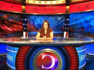 Anita Sarkeesian on The Colbert Report