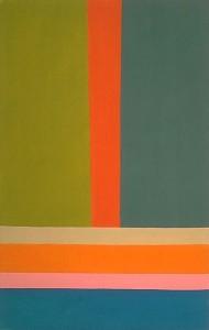 Jack Bush, Big A, 1968