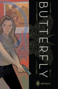 Butterfly #1 Cover, Bennett & Fuso, Archaia 2014