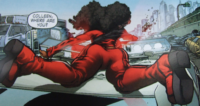 Misty Knight, taint, DAUGHTERS OF THE DRAGON (2006), Samurai Bullets, Marvel Comics, Writer: Justin Gray  Penciller: Khari Evans  Cover Artist: Khari Evans