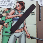 Colleen Wing,DAUGHTERS OF THE DRAGON (2006), Samurai Bullets, Marvel Comics, Writer: Justin Gray Penciller: Khari Evans Cover Artist: Khari Evans