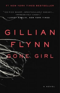 Cover. Gone Girl. Gillian Flynn. April 22nd 2014. Broadway Books. Random House.