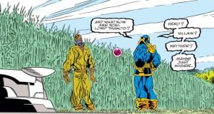 The Infinity Gauntlet. W: Jim Starlin. A: George Perez. Marvel Comics, 1991.