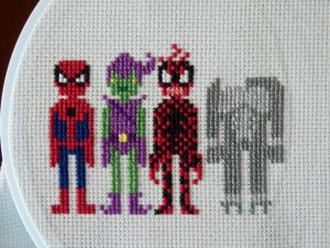 Life Geek - Mai, cross stitch