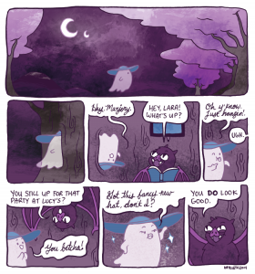 Little Ghost by Kate Leth, 2014