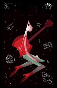Marceline Adrift, Artist Unknonw, kaBOOM Studios