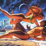 Marvel Swimsuit Special #3, featuring Rogue and Gambit, art by Greg & Tim Hildebrandt