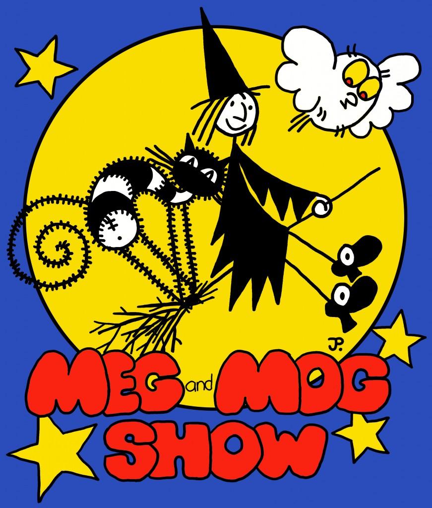 Meg and Mog Image Blue BG