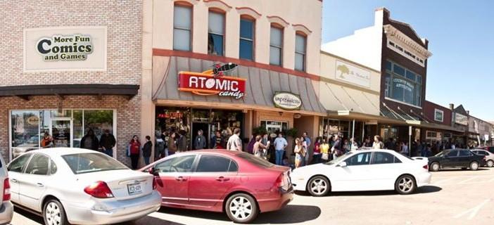 More Fun Comics and Games, Free Comic Book Day, 2014, Denton, TX