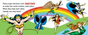 My First Book of Girl Power Julie Merberg DC Comics Downtown Bookworks 2014 2