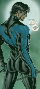 DC's Nightwing, featuring Dat Ass