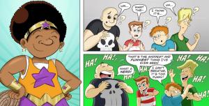 RISE Comics against bullying