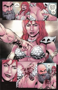 Red Sonja, Black Tower, #1, Tieri and Rezak, Fengar looses a finger, Dynamite 2014