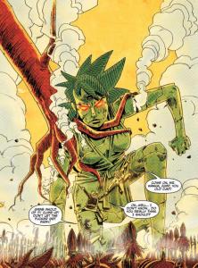 Big stone Barney, Tank Girl: The Royal Escape, The Power of Tank Girl, Rufus Dayglo & Alan Martin, IDW, Titan Comics, 2014