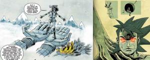 Misty Mountains & Giant Head, Tank Girl: The Royal Escape, The Power of Tank Girl, Rufus Dayglo & Alan Martin, IDW, Titan Comics, 2014