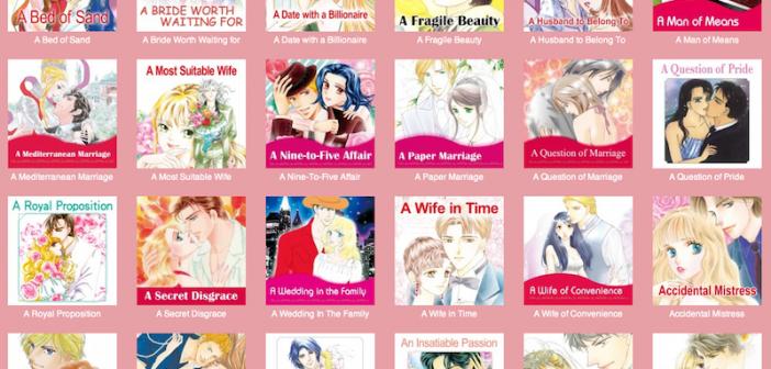 Harlequin Josei Manga comiXology thumbnails, screenshot, page one