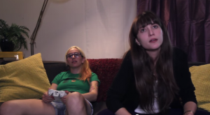 If Gamer Girls Acted Like Gamer Guys youtube video still from Buzzfeed Yellow
