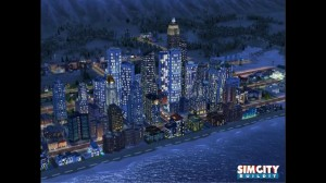 SimCity BuildIt Night Media Screenshot by EA