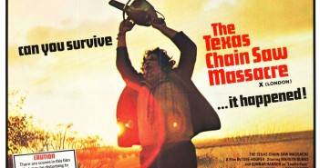 Texas Chain Saw Massacre UK poster, dir. Tobe Hooper, 1974