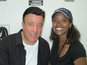 Tony Puryear and Erika Alexander, blackfilm.com, SDCC