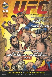 UFC 181 Poster Howard Sinclair 2014