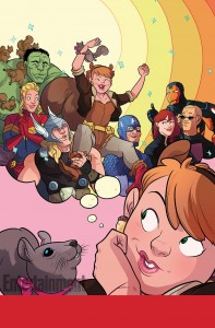 Unbeatable Squirrel Girl #1. W: Ryan Q North. A: Erica Henderson. Image from Entertainment Weekly. Marvel, 2015.