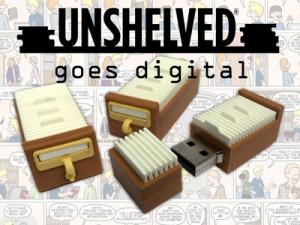 Unshelved USB kickstarter image