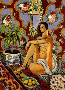 Matisse, Decorative Figure