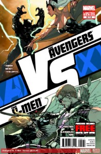 Avengers Vs. X-Men: Versus #5. W: Aaron, Fraction. A: Raney, Yu. Marvel Comics.