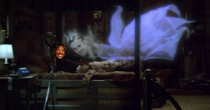 ghostbusters ghost sex scene, aisha taylor & ryan gosling